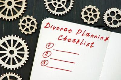 Divorce Planning Checklist